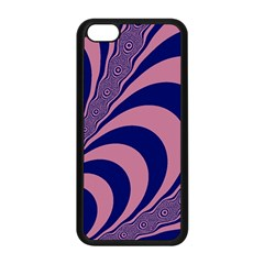 Fractals Vector Background Apple iPhone 5C Seamless Case (Black)