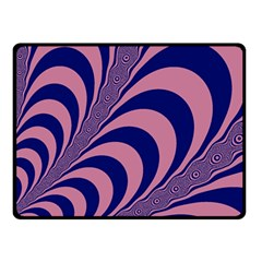 Fractals Vector Background Double Sided Fleece Blanket (small)