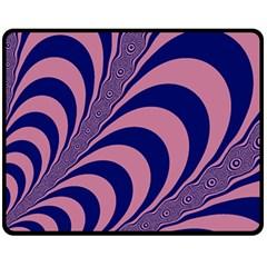 Fractals Vector Background Double Sided Fleece Blanket (medium)