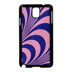 Fractals Vector Background Samsung Galaxy Note 3 Neo Hardshell Case (Black)