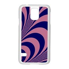 Fractals Vector Background Samsung Galaxy S5 Case (white)