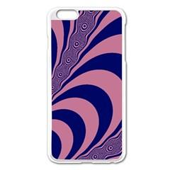Fractals Vector Background Apple Iphone 6 Plus/6s Plus Enamel White Case