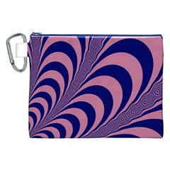 Fractals Vector Background Canvas Cosmetic Bag (xxl)