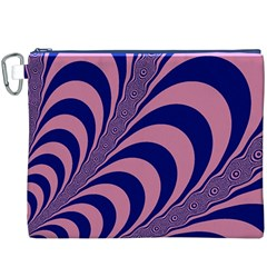 Fractals Vector Background Canvas Cosmetic Bag (xxxl)