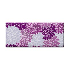 Floral Wallpaper Flowers Dahlia Cosmetic Storage Cases