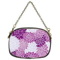 Floral Wallpaper Flowers Dahlia Chain Purses (One Side)