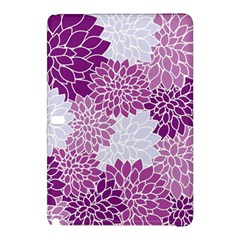 Floral Wallpaper Flowers Dahlia Samsung Galaxy Tab Pro 12.2 Hardshell Case