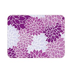 Floral Wallpaper Flowers Dahlia Double Sided Flano Blanket (mini)