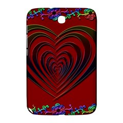 Red Heart Colorful Love Shape Samsung Galaxy Note 8 0 N5100 Hardshell Case