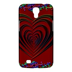 Red Heart Colorful Love Shape Samsung Galaxy Mega 6.3  I9200 Hardshell Case