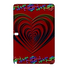Red Heart Colorful Love Shape Samsung Galaxy Tab Pro 12.2 Hardshell Case
