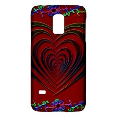 Red Heart Colorful Love Shape Galaxy S5 Mini