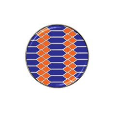 Pattern Design Modern Backdrop Hat Clip Ball Marker (4 Pack)