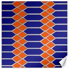 Pattern Design Modern Backdrop Canvas 16  x 16