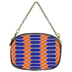 Pattern Design Modern Backdrop Chain Purses (One Side)