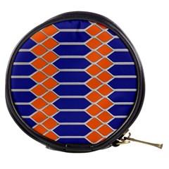 Pattern Design Modern Backdrop Mini Makeup Bags