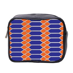 Pattern Design Modern Backdrop Mini Toiletries Bag 2 Side