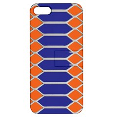 Pattern Design Modern Backdrop Apple Iphone 5 Hardshell Case With Stand