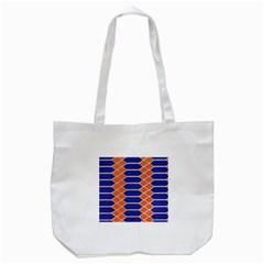 Pattern Design Modern Backdrop Tote Bag (white)