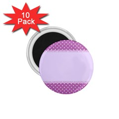Purple Modern 1 75  Magnets (10 Pack)