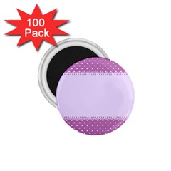 Purple Modern 1.75  Magnets (100 pack)