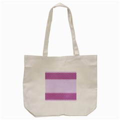 Purple Modern Tote Bag (Cream)