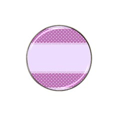 Purple Modern Hat Clip Ball Marker (4 Pack)