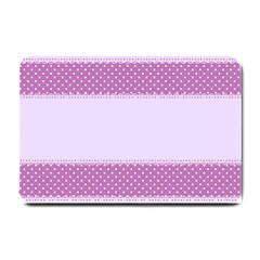 Purple Modern Small Doormat