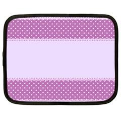 Purple Modern Netbook Case (XXL)