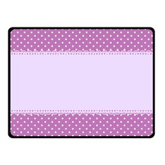 Purple Modern Fleece Blanket (Small)