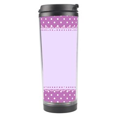 Purple Modern Travel Tumbler