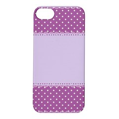 Purple Modern Apple iPhone 5S/ SE Hardshell Case