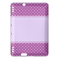 Purple Modern Kindle Fire Hdx Hardshell Case