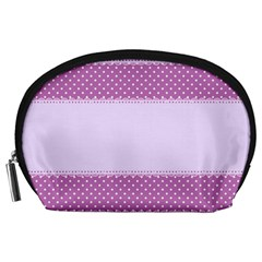 Purple Modern Accessory Pouches (large)