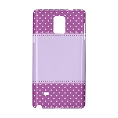 Purple Modern Samsung Galaxy Note 4 Hardshell Case