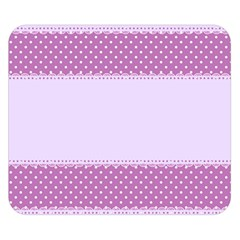 Purple Modern Double Sided Flano Blanket (Small)