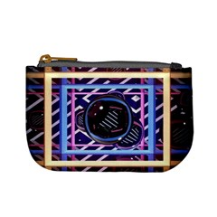 Abstract Sphere Room 3d Design Mini Coin Purses