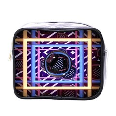 Abstract Sphere Room 3d Design Mini Toiletries Bags