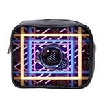 Abstract Sphere Room 3d Design Mini Toiletries Bag 2-Side Front