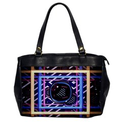 Abstract Sphere Room 3d Design Office Handbags