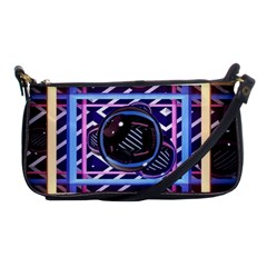 Abstract Sphere Room 3d Design Shoulder Clutch Bags