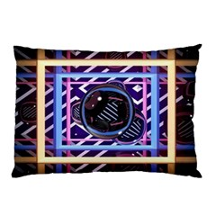 Abstract Sphere Room 3d Design Pillow Case (Two Sides)