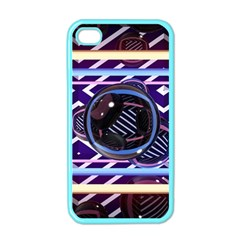 Abstract Sphere Room 3d Design Apple Iphone 4 Case (color)