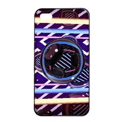 Abstract Sphere Room 3d Design Apple iPhone 4/4s Seamless Case (Black)