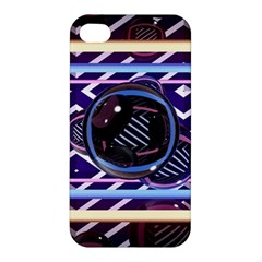 Abstract Sphere Room 3d Design Apple Iphone 4/4s Hardshell Case