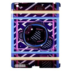 Abstract Sphere Room 3d Design Apple iPad 3/4 Hardshell Case (Compatible with Smart Cover)