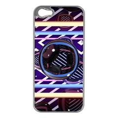 Abstract Sphere Room 3d Design Apple Iphone 5 Case (silver)