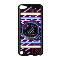 Abstract Sphere Room 3d Design Apple Ipod Touch 5 Case (black)