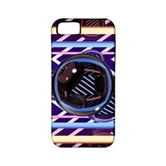 Abstract Sphere Room 3d Design Apple Iphone 5 Classic Hardshell Case (pc+silicone)