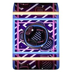 Abstract Sphere Room 3d Design Flap Covers (l)